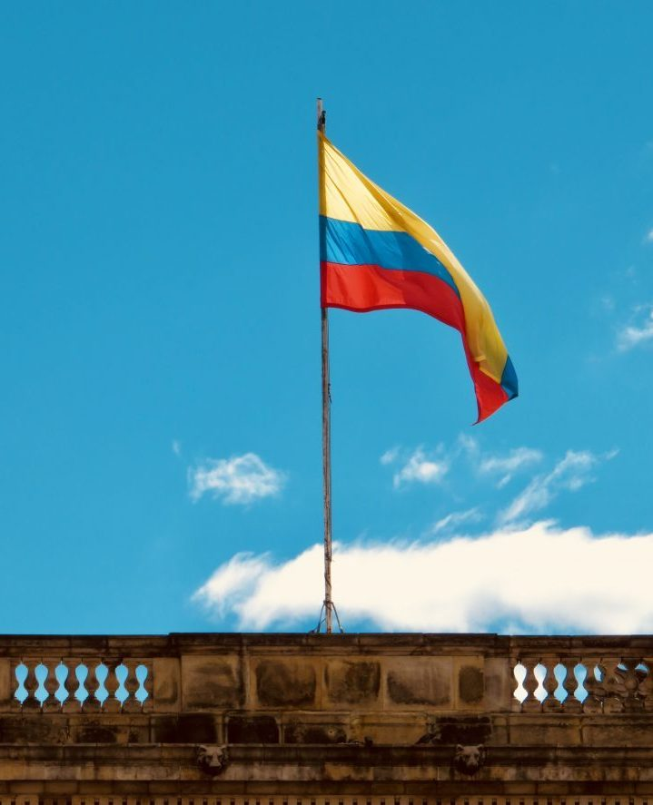 Colombian Flag; Colombia Travel Blog Inspirations
