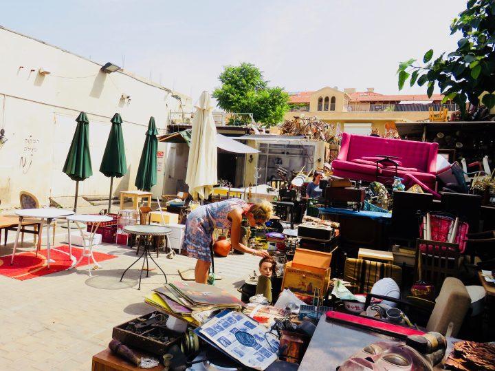 Flea Market for blog Neighbourhoods in Tel Aviv Israel; Tel Aviv City Trip Travel Blog Inspirations
