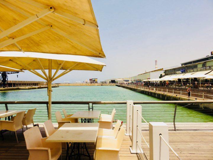 Old Port area by bike in Tel Aviv Israel ; Tel Aviv City Trip Travel Blog Inspirations