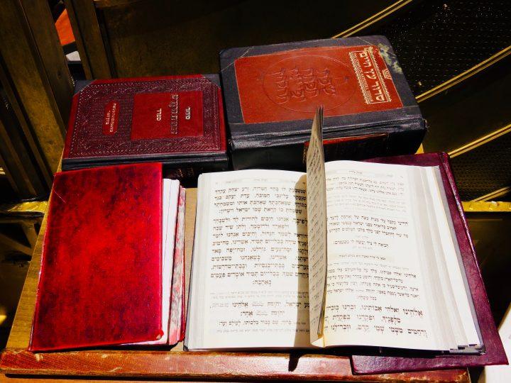 Religious Book at Western Wall Jerusalem from Tel Aviv Israel ; Tel Aviv City Trip Travel Blog Inspirations
