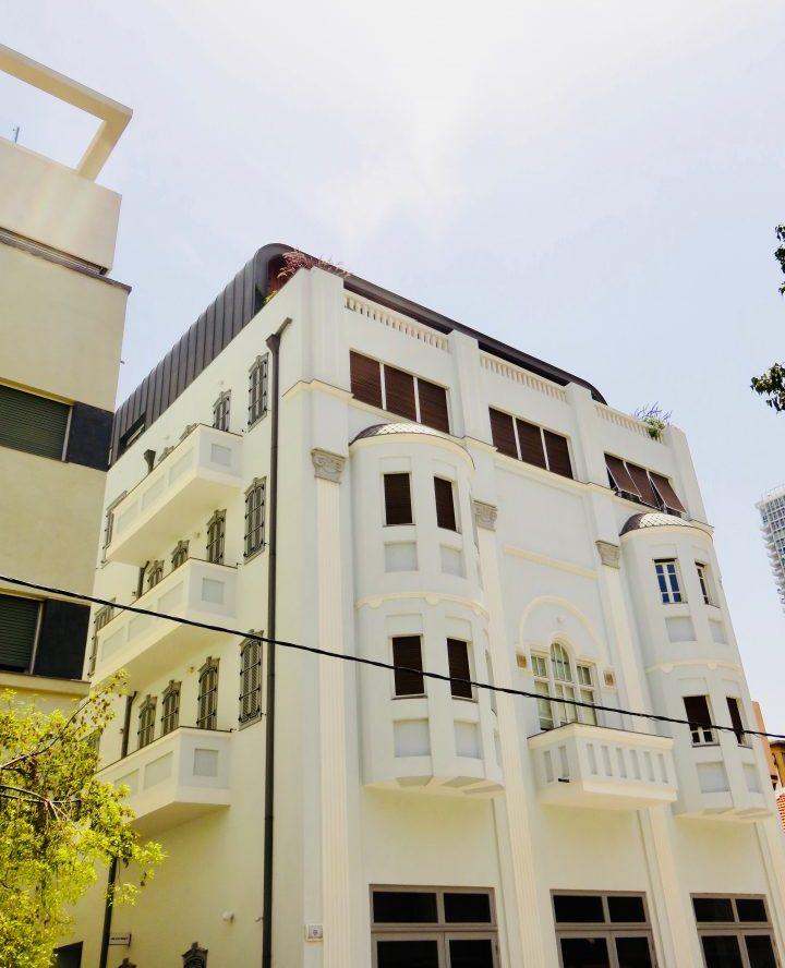 Renovated Bauhaus blog Neighbourhoods in Tel Aviv Israel ; Tel Aviv City Trip Travel Blog Inspirations