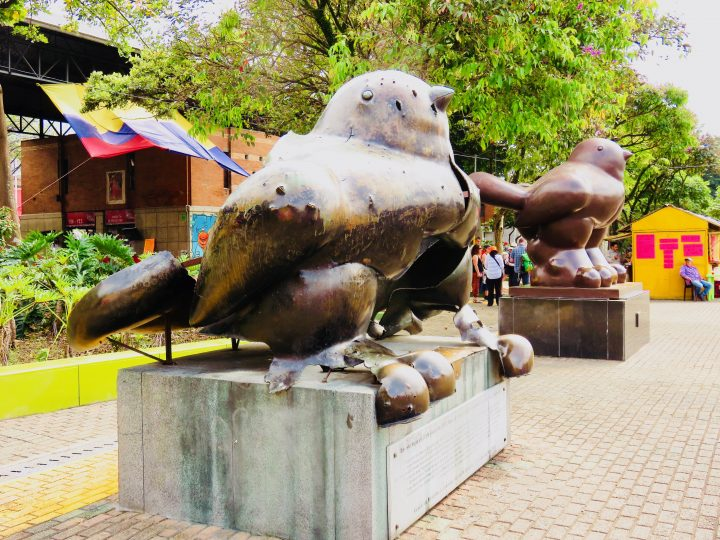 Botero sculptures in Bogota Colombia; Colombia Travel Blog Inspirations