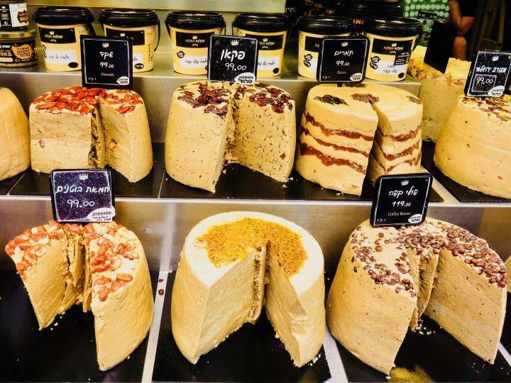 Tahini tarte at Carmel Market in Tel Aviv Israel ; Tel Aviv City Trip Travel Blog Inspirations