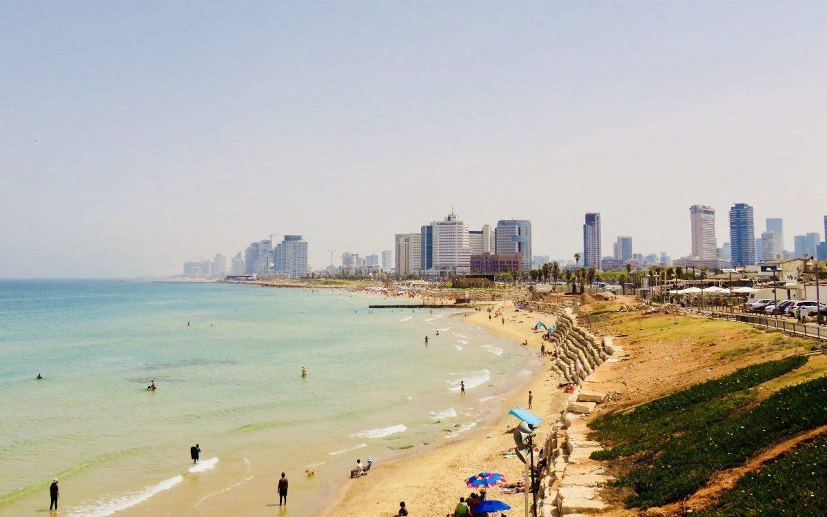 Overview over Tel Aviv Israel; Tel Aviv City Trip Travel Blog Inspirations