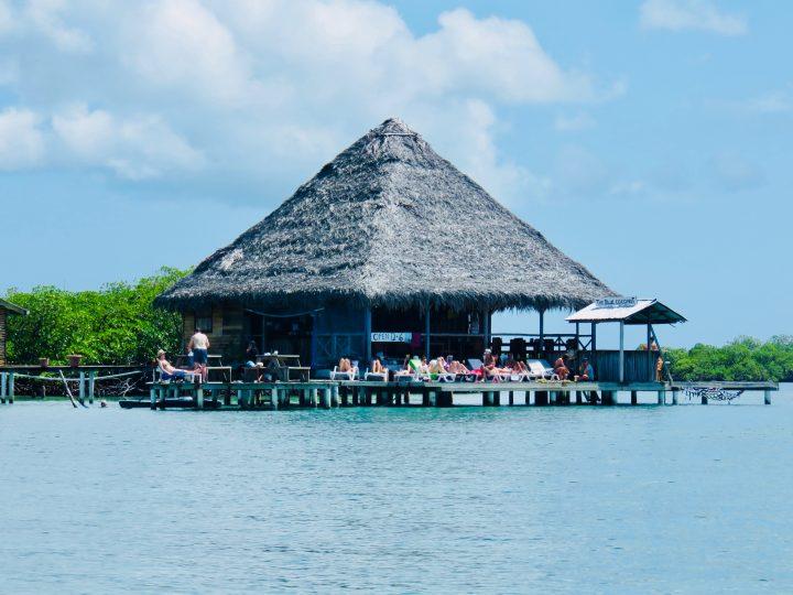 Chilling at Blue Coconut restaurant on Bocas del Toro Panama; Panama Travel Blog Inspirations