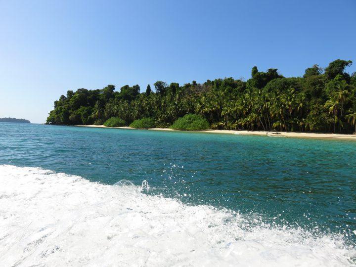 On the boat to Coiba near Santa Catalina Panama; Panama Travel Blog Inspirations