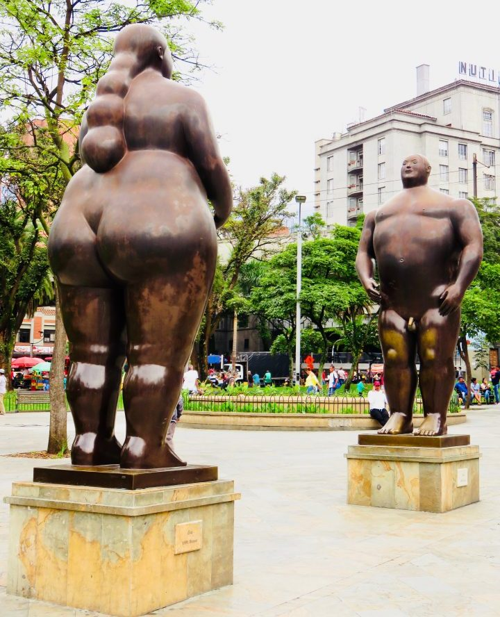 Botero sculptures in Medellín Colombia; Colombia Travel Blog Inspirations