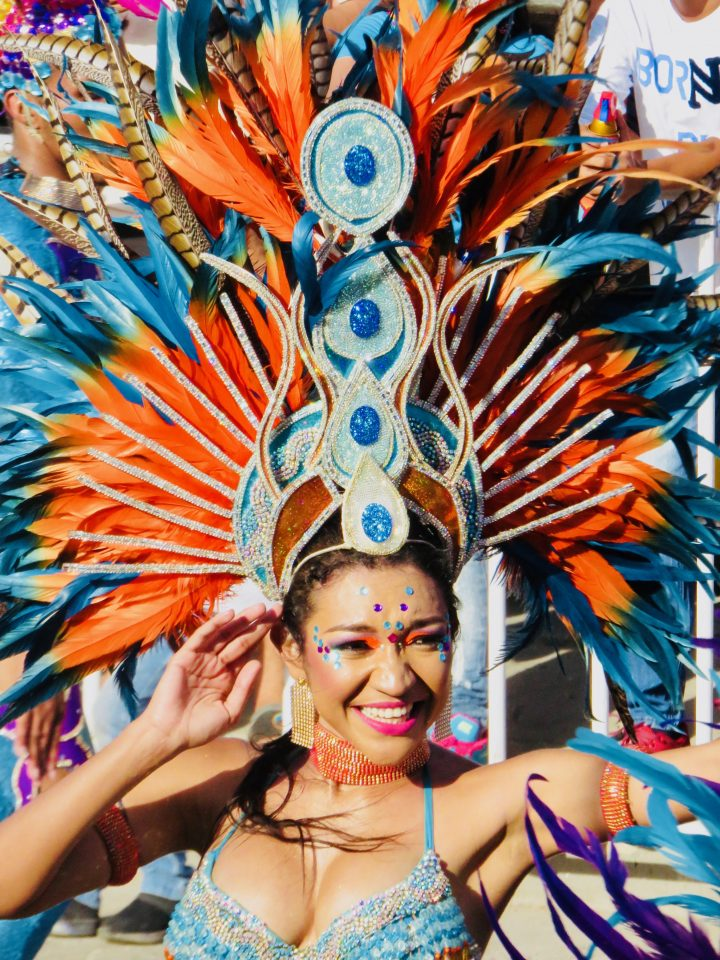 Costumes at the Carnival in Barranquilla Colombia; Colombia Travel Blog Inspirations