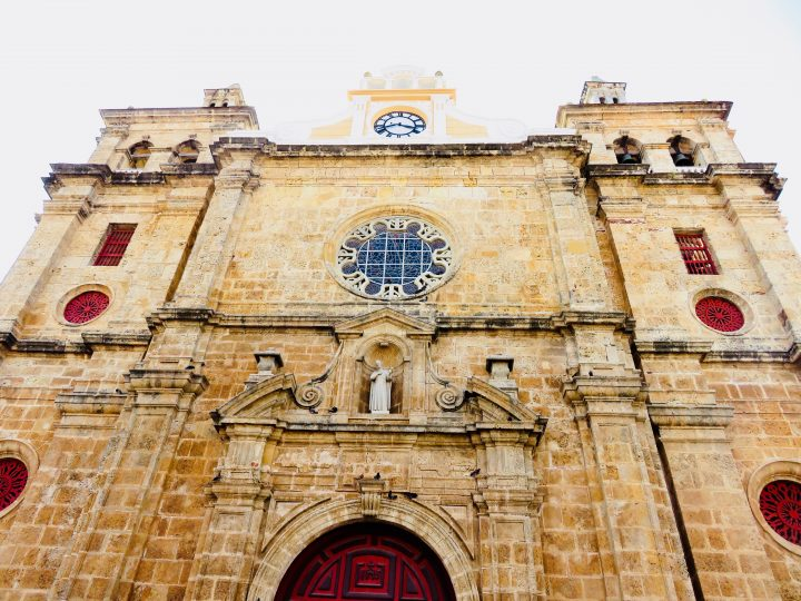 Spanish Church in Cartagena Colombia; Colombia Travel Blog Inspirations