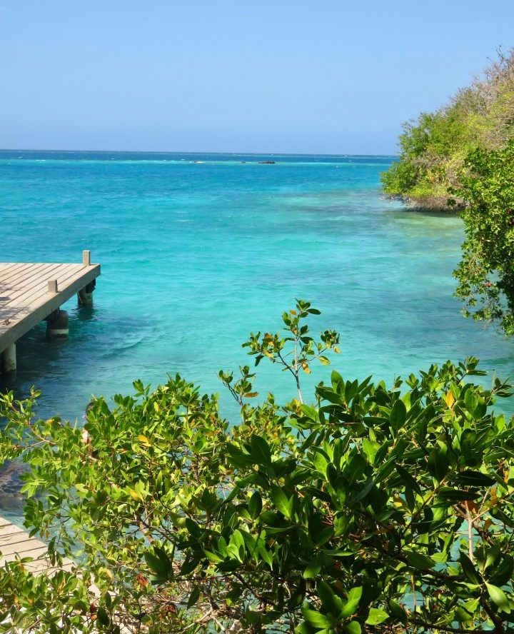 Chilling on Coralinda Island in the Rosario Islands near Cartagena in Cartagena Colombia; Colombia Travel Blog Inspirations