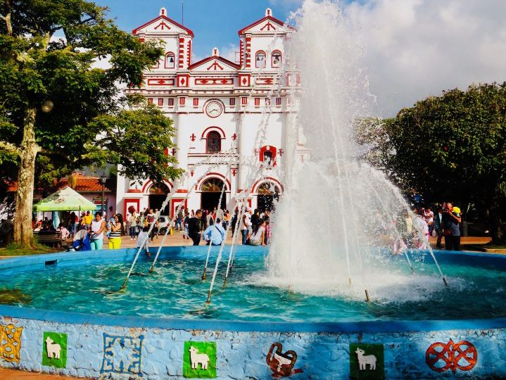 Fountain of Guatapé Colombia; Colombia Travel Blog Inspirations