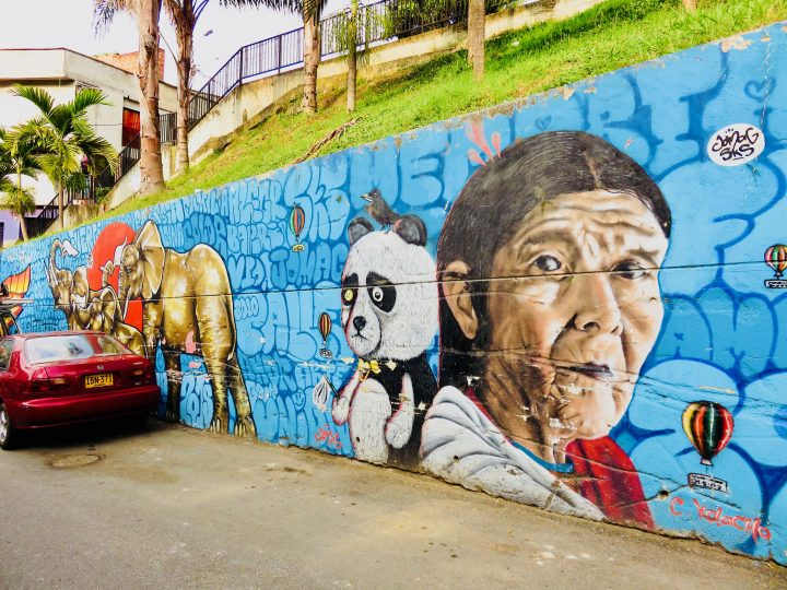 Graffiti Art in Medellín Colombia; Colombia Travel Blog Inspirations