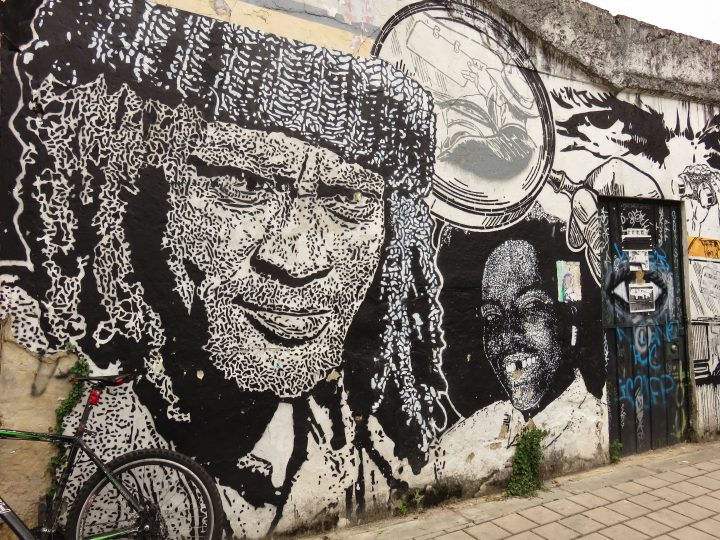 Graffiti in streets of Bogota Colombia; Colombia Travel Blog Inspirations