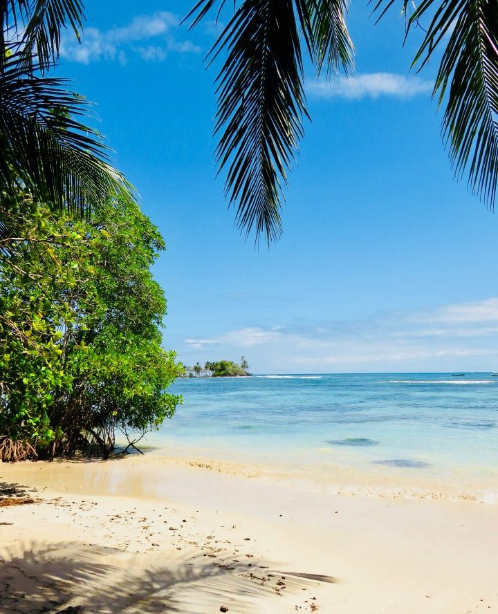 Isla Canero view on Bocas del Toro Panama; Panama Travel Blog Inspirations