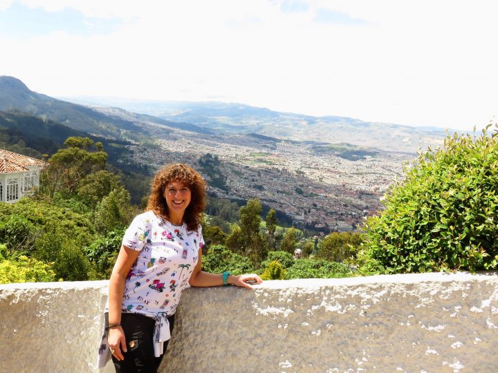 Let Me Inspire You overlooking Bogota Colombia; Colombia Travel Blog Inspirations
