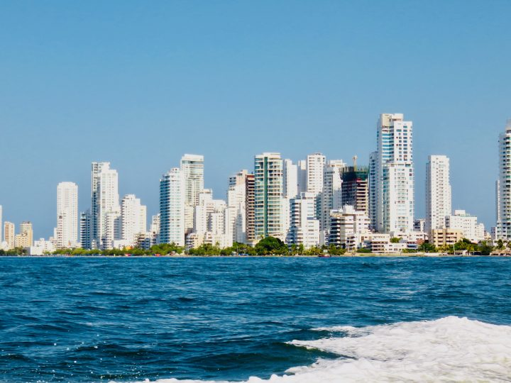 Skyline of New Cartagena in Cartagena Colombia; Colombia Travel Blog Inspirations