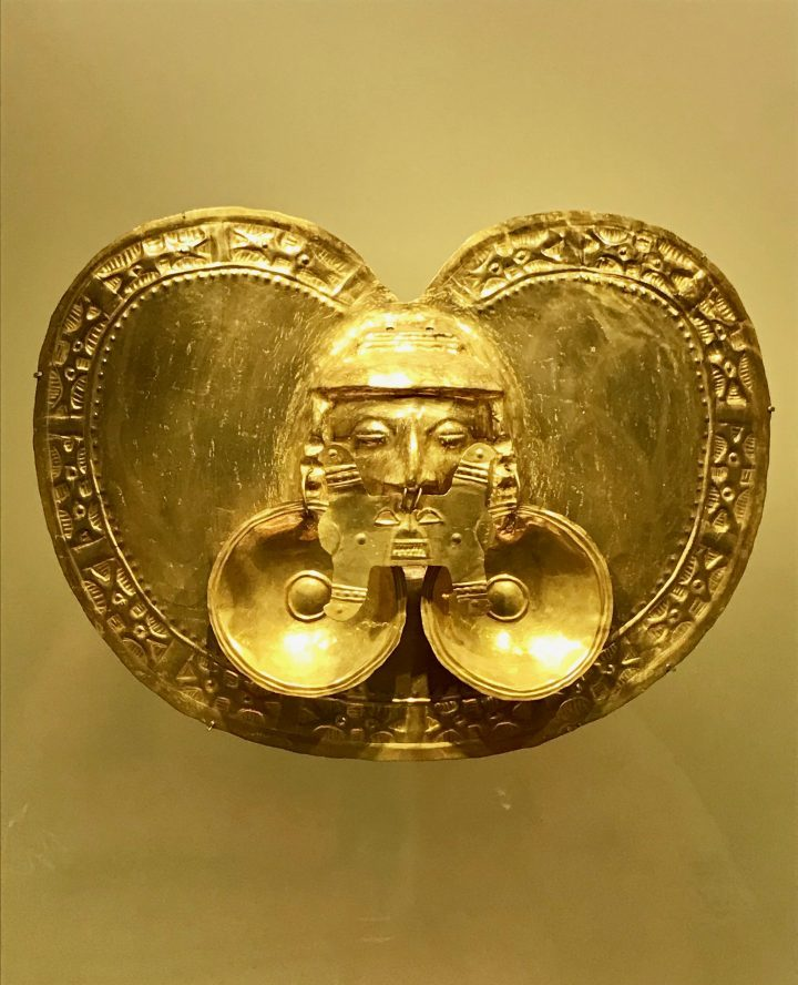 Piece of the Museo del Oro in Bogota Colombia; Colombia Travel Blog Inspirations