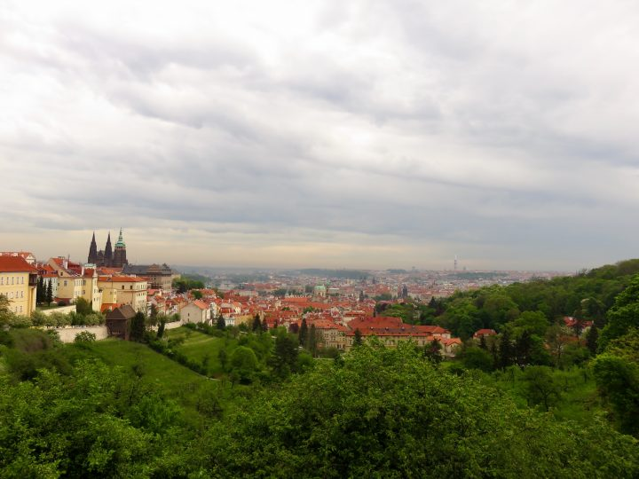 Overview over Prague; Prague City Trip Travel Blog Inspirations