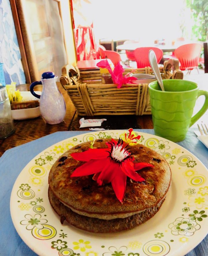 Pancake at restaurant Olga in Boquete Panama; Panama Travel Blog Inspirations