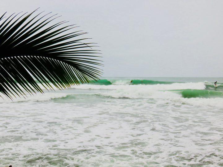 Surfing Paunch Beach on Bocas del Toro Panama; Panama Travel Blog Inspirations