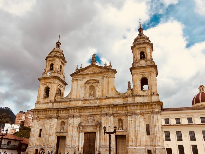 Primada Cathedral in Bogota Colombia; Colombia Travel Blog Inspirations