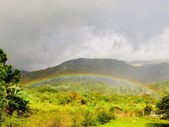 Rainbow over Boquete Panama; Panama Travel Blog Inspirations