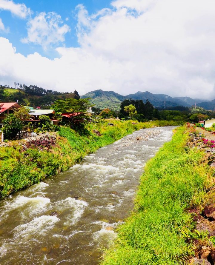 River view in Boquete Panama; Panama Travel Blog Inspirations