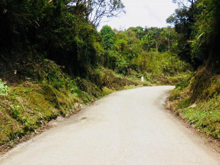 Unpaved road to Poyayán Colombia; Colombia Travel Blog Inspirations