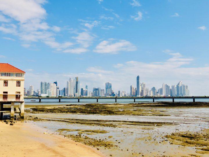 Skyline by day in Panama City; Panama Travel Blog Inspirations