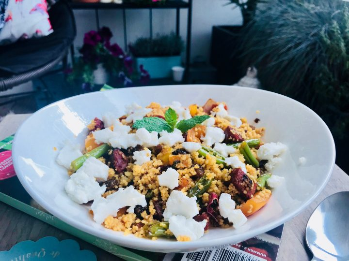 Spicy Chorizo Couscous Dinner Meal; Healthy Food recipes and inspirations Blog