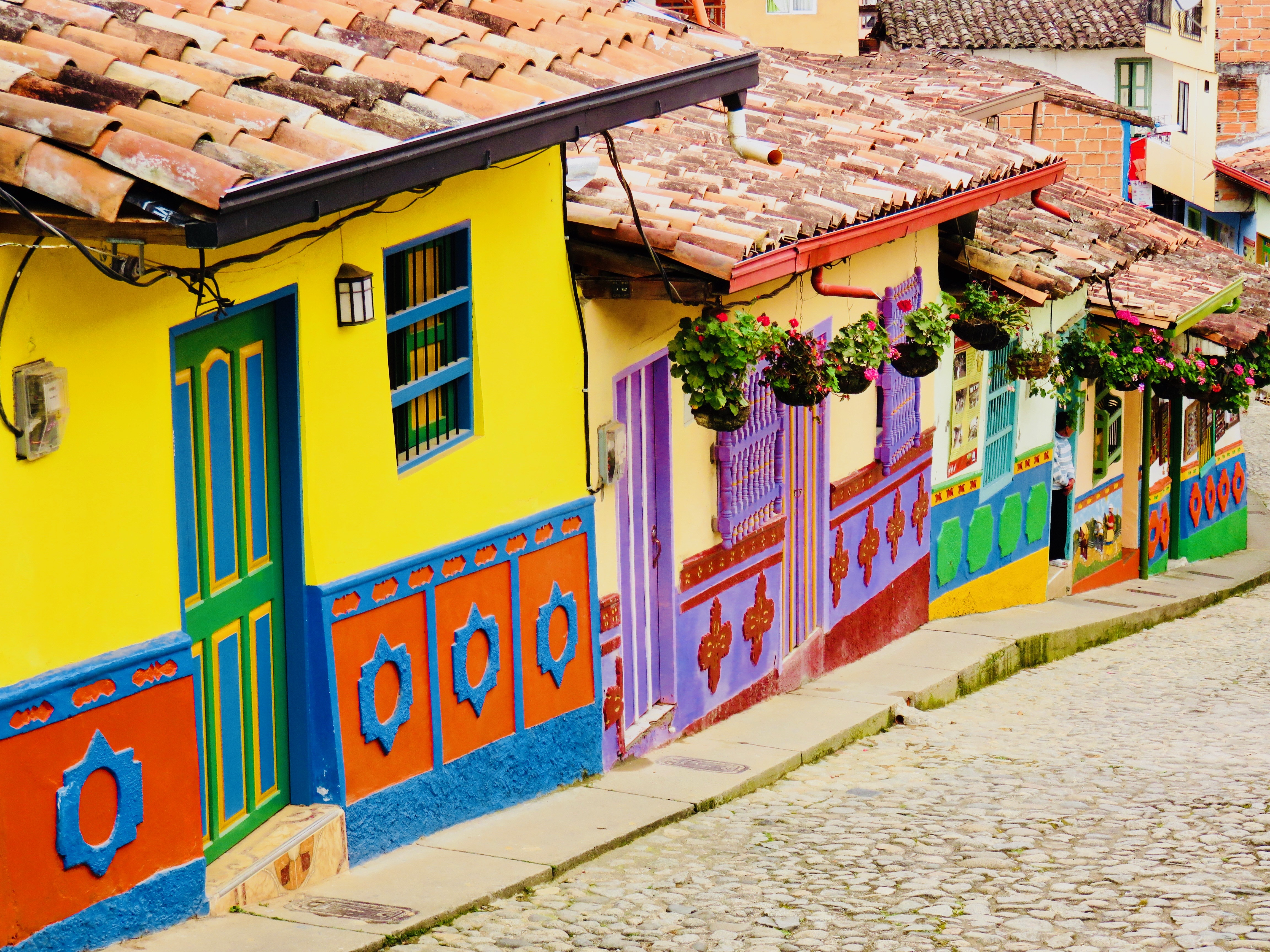 Street of Guatapé Colombia; Colombia Travel Blog Inspirations