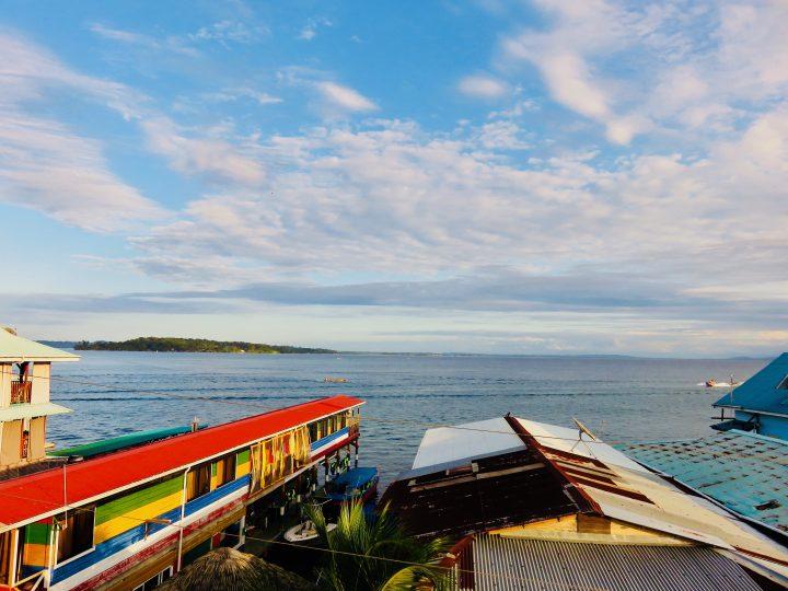 View from restaurant LayLow on Bocas del Toro Panama; Panama Travel Blog Inspirations