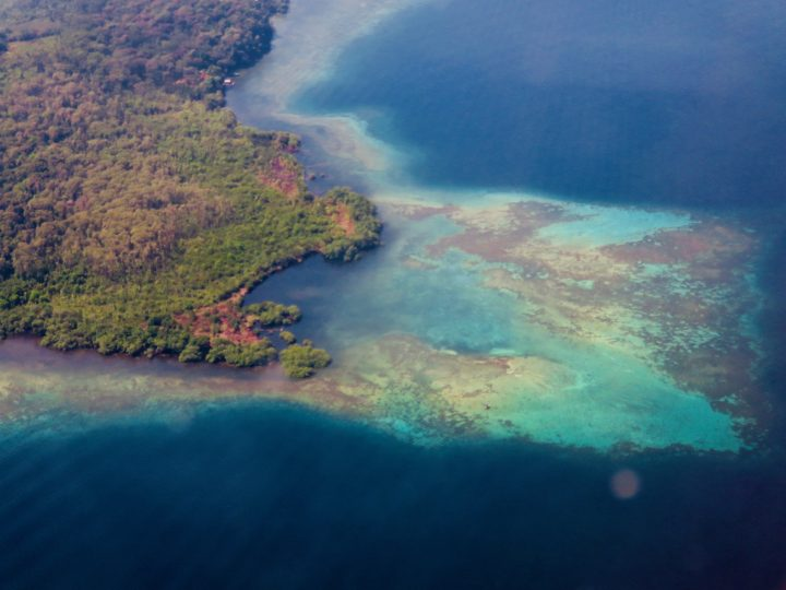 View above Bocas del Toro; Panama Travel Blog Inspirations