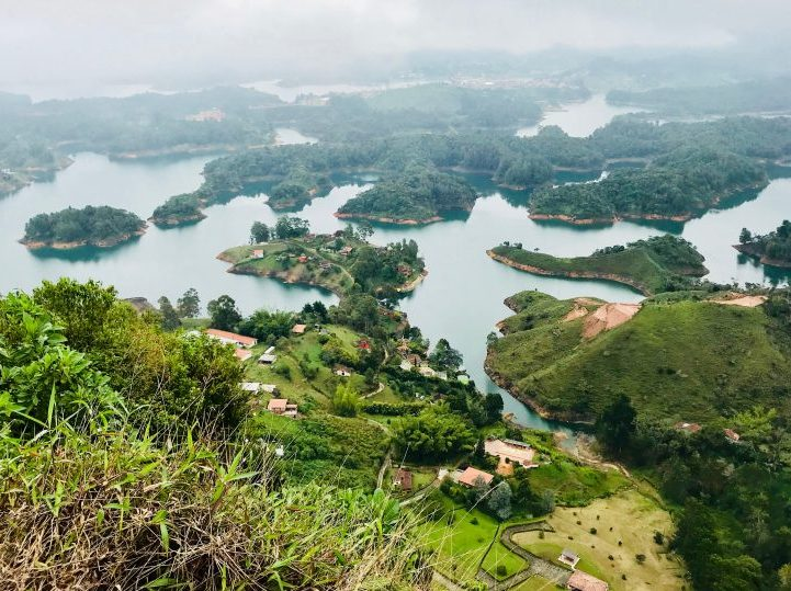 View from above Peñol Colombia; Colombia Travel Blog Inspirations