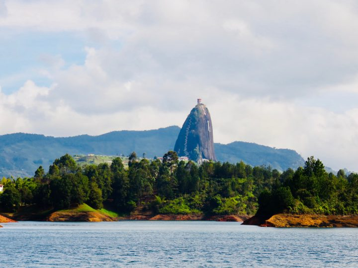 View from the boat at Peñol Colombia; Colombia Travel Blog Inspirations
