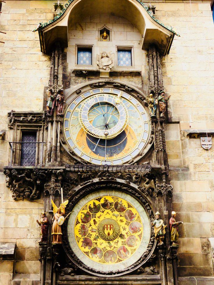 Astronomical Clock Prague; Prague City Trip Travel Blog Inspirations