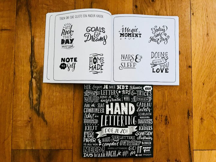 Being Creative with Lettering Book; Creativity Tips and inspirations Blog