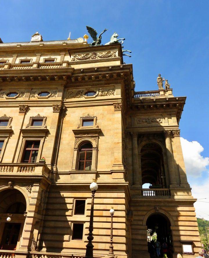 National Theater in Prague; Prague City Trip Travel Blog Inspirations
