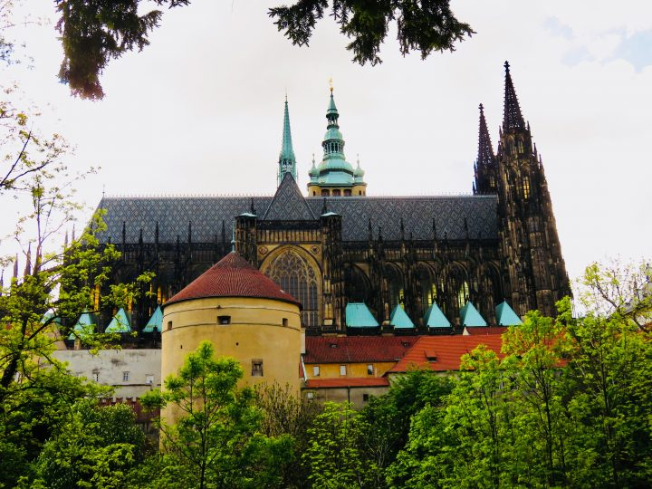Palace from beside in Prague; Prague City Trip Travel Blog Inspirations