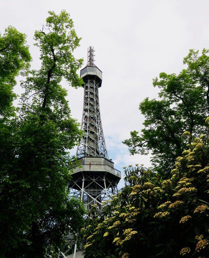 Petřin hill in Prague; Prague City Trip Travel Blog Inspirations