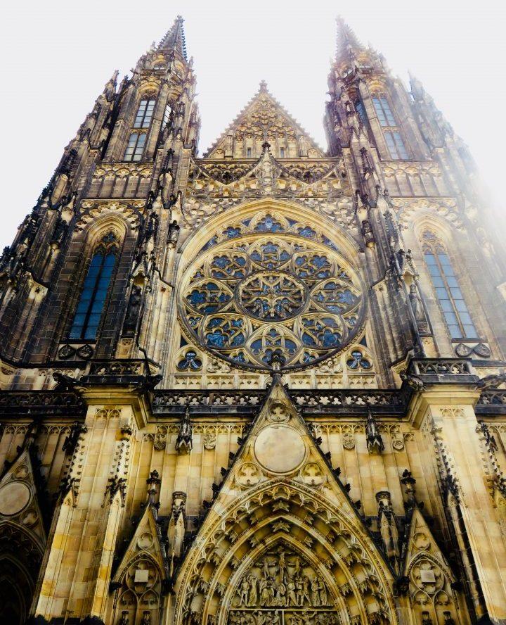 Beautiful St Vitus church in Prague; Prague City Trip Travel Blog Inspirations