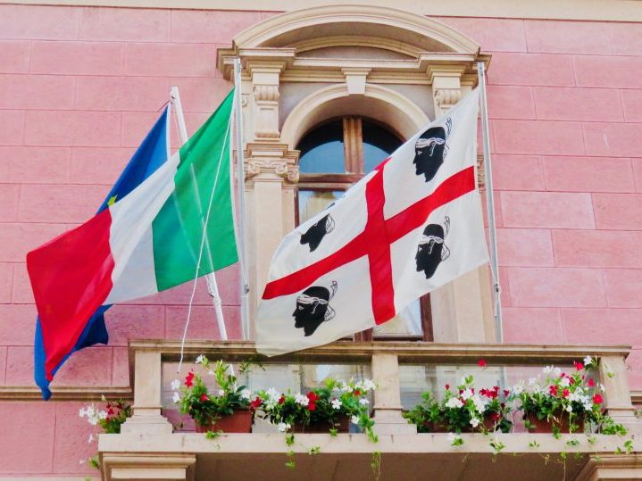 Flags of Sardinia, Sardinia Travel Blog Inspirations