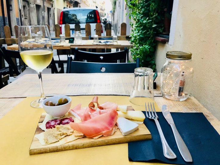 Aperitivo while traveling in Sardinia, Sardinia Travel Blog Inspirations