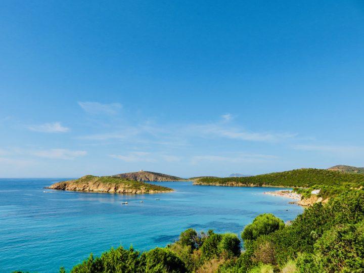 Cala Tuerredaa beach in South Sardinia, Sardinia Travel Blog Inspirations