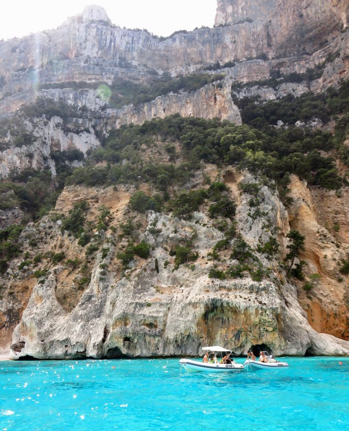 Cliffs of Golfo di Orosei in East Sardinia, Sardinia Travel Blog Inspirations