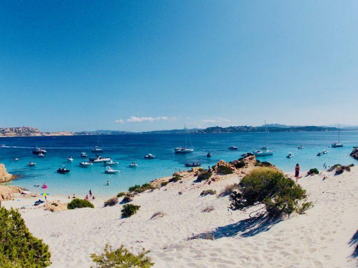 Isola Spargi beach Maddalena Archipelago in Northeast Sardinia, Sardinia Travel Blog Inspirations
