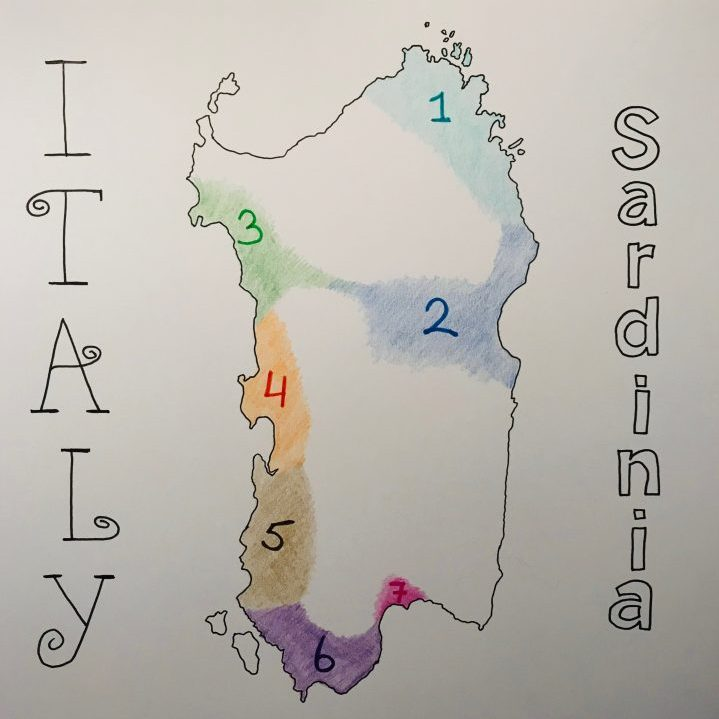 Map Route Sardinia, Sardinia Travel Blog Inspirations