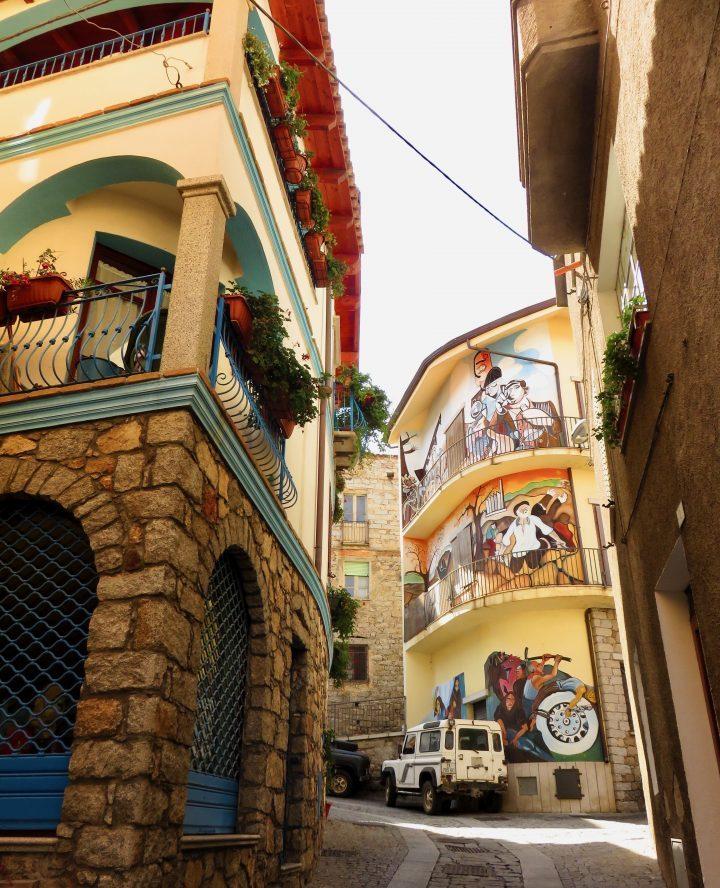 Murales art Orgosolo in East Sardinia, Sardinia Travel Blog Inspirations