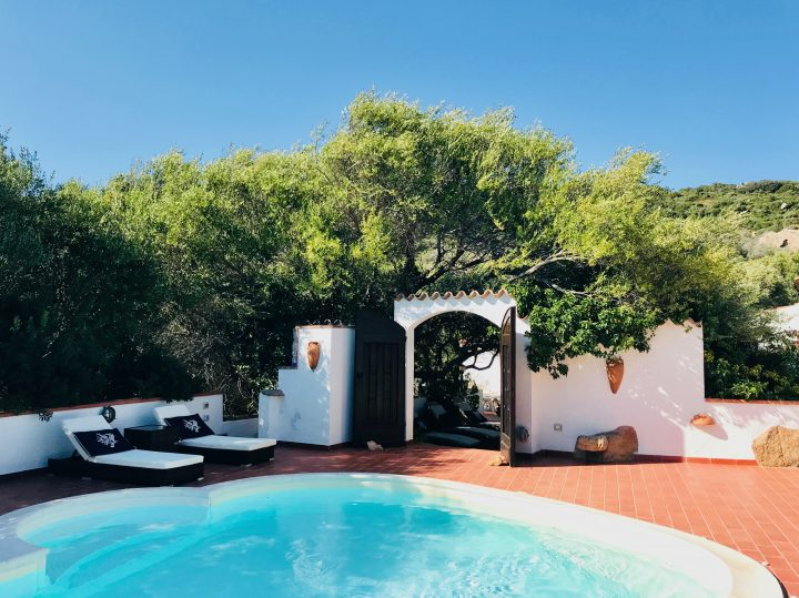 Pool at Saltara Agriturismo in Northeast Sardinia, Sardinia Travel Blog Inspirations
