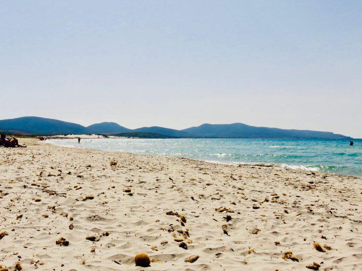 Porto Pino beach in South Sardinia, Sardinia Travel Blog Inspirations